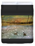 Shades Of Seasons Past Duvet Cover by Jan Amiss Photography