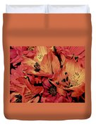 Shades Of Spring Duvet Cover
