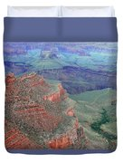 Shades Of The Canyon Duvet Cover