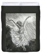 Shadow Dancer Duvet Cover