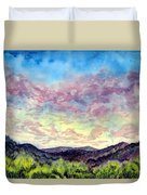 Shadow Of The Valley Duvet Cover
