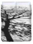 Shadow Tree  Herrick Lake  Naperville Illinois Duvet Cover