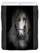 Shadowed Andalusian  Duvet Cover