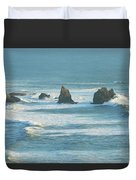 Shadowed Waves Duvet Cover