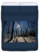 Shadows And Silhouettes Duvet Cover