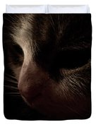 Shadows Of A Cat Duvet Cover