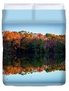 Shadows Of Reflection Duvet Cover