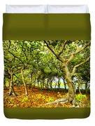 Shady Grove At Wai'anapanapa Duvet Cover