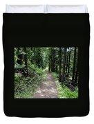 Shady Grove Path Duvet Cover
