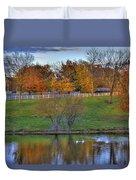Shaker Lake 5 Duvet Cover