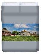 Shaker Pastoral Panorama Duvet Cover