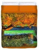 Shaker Stone Fence 1 Duvet Cover