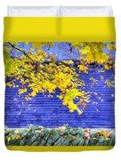 Shaker Stone Fence 2 Duvet Cover