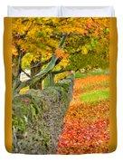 Shaker Stone Fence 3 Duvet Cover