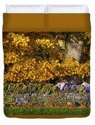 Shaker Stone Fence 4 Duvet Cover