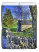 Shaker Stone Fence 6 Duvet Cover
