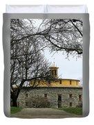Shaker Village Barn Duvet Cover