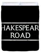 Shakespeare Road Uk Duvet Cover
