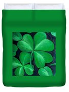 Shamrocks Duvet Cover