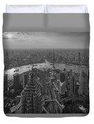Shanghai, China Duvet Cover