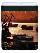 Shanghai City 14 Duvet Cover