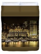 Shanghai Nights Duvet Cover