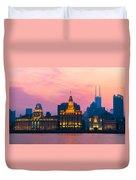 Shanghai Sunset Duvet Cover