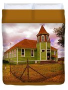 Shaniko School District Sixty Seven Duvet Cover