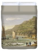 Shanklin Bay Duvet Cover