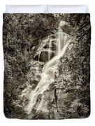 Shannon Falls - Bw Duvet Cover
