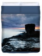 Shaped By The Waves Duvet Cover