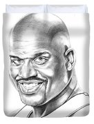 Shaquille O'neal Duvet Cover