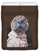 Shar Pei Pup Duvet Cover