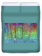 Sharing Colours And Dreams Duvet Cover