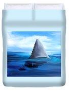 Shark Fin Duvet Cover