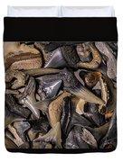 Sharks Teeth 8 Duvet Cover