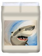 Sharky Grin Duvet Cover