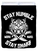 Sharp Tiger Duvet Cover