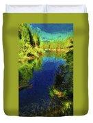 Shasta's Still Waters Duvet Cover