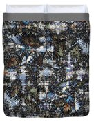 Shattered Patterns Duvet Cover