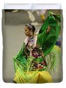 Pow Wow Shawl Dancer 3 Duvet Cover
