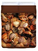 She Sells Sea Shells Duvet Cover