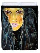 She Shines Duvet Cover