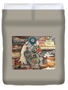 She Was Headed For Greatness Duvet Cover