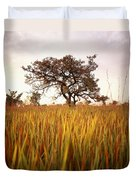 Shea Tree In Field, Near Lira, Uganda Duvet Cover