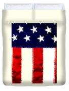 Shear Flag Duvet Cover