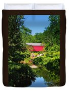 Sheards Mill Bridge - Nockamixon Pa Duvet Cover