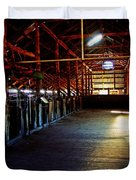 Shearing Shed From A Bygone Era Duvet Cover