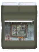Shed Window Duvet Cover
