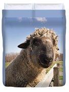 Sheep Face 2 Duvet Cover